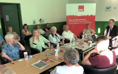Über meine letzte Bürgersprechstunde in Meiendorf