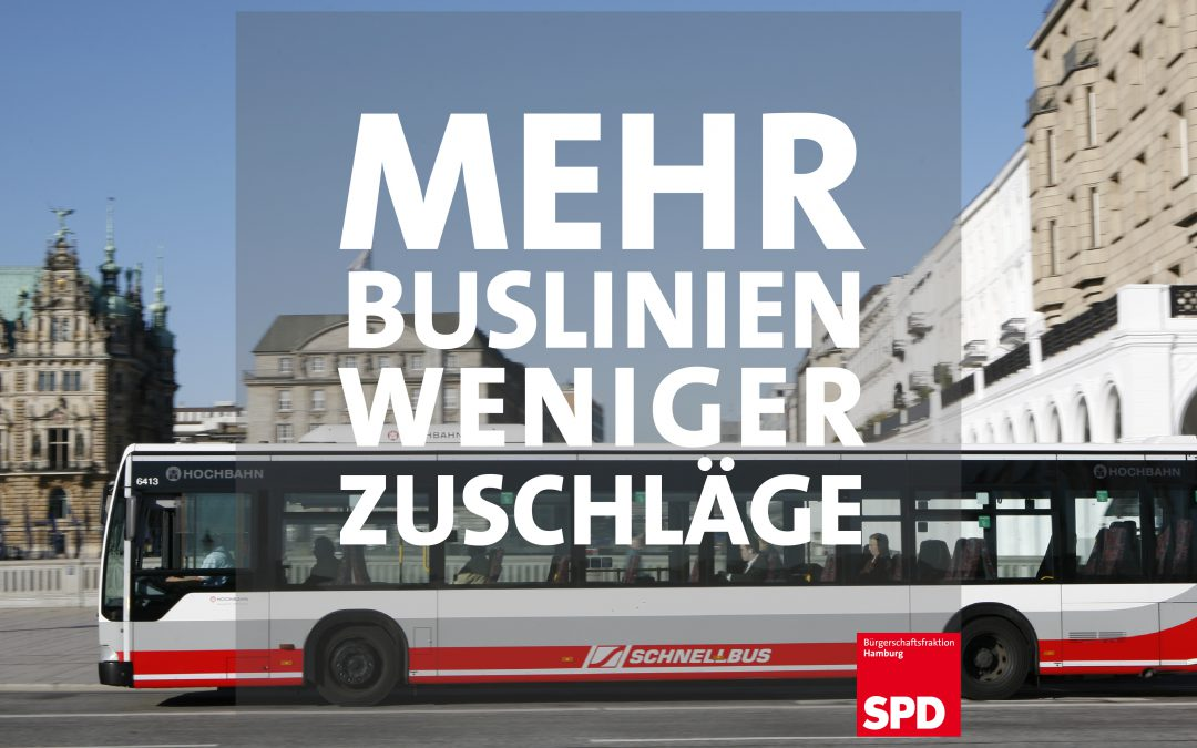 Großer Ausbau des öffentlichen Nahverkehrs: Mehr MetroBus-Linien für Hamburg