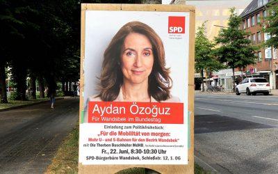 Aydan Özoguz lädt ein: Politikfrühstück zum Thema Mobilität von morgen