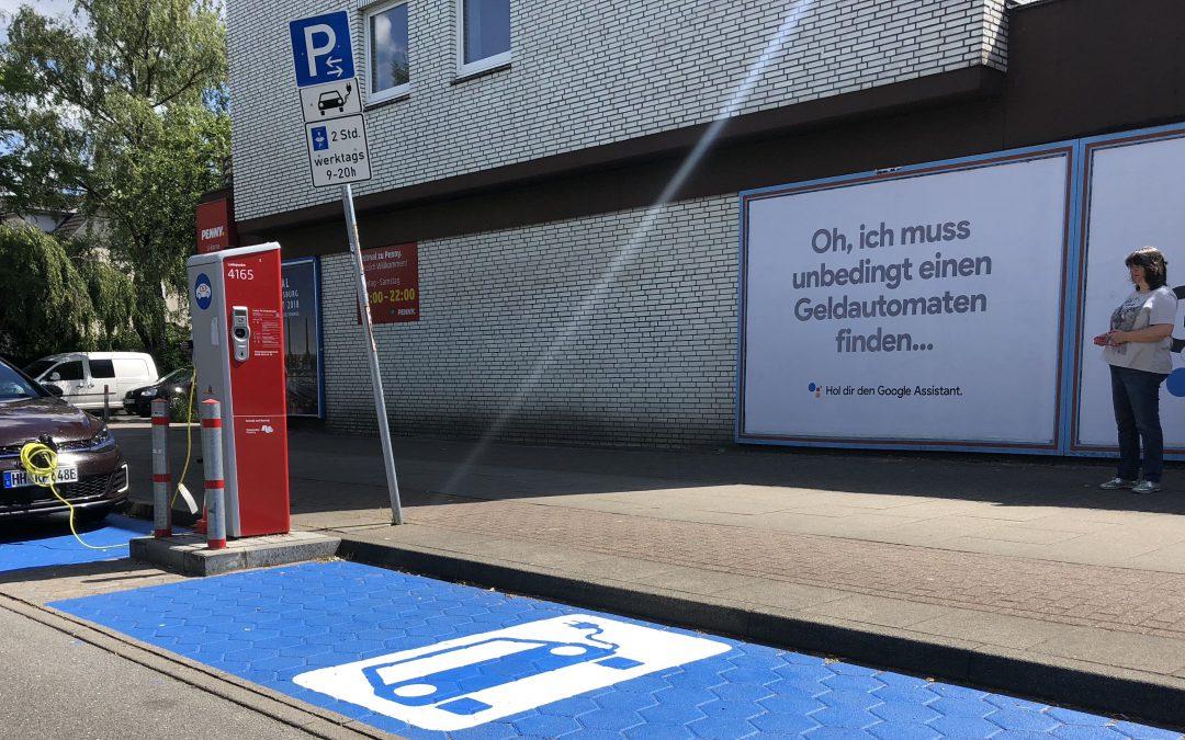 Mehr Ladesäulen für Elektrofahrzeuge in Rahlstedt