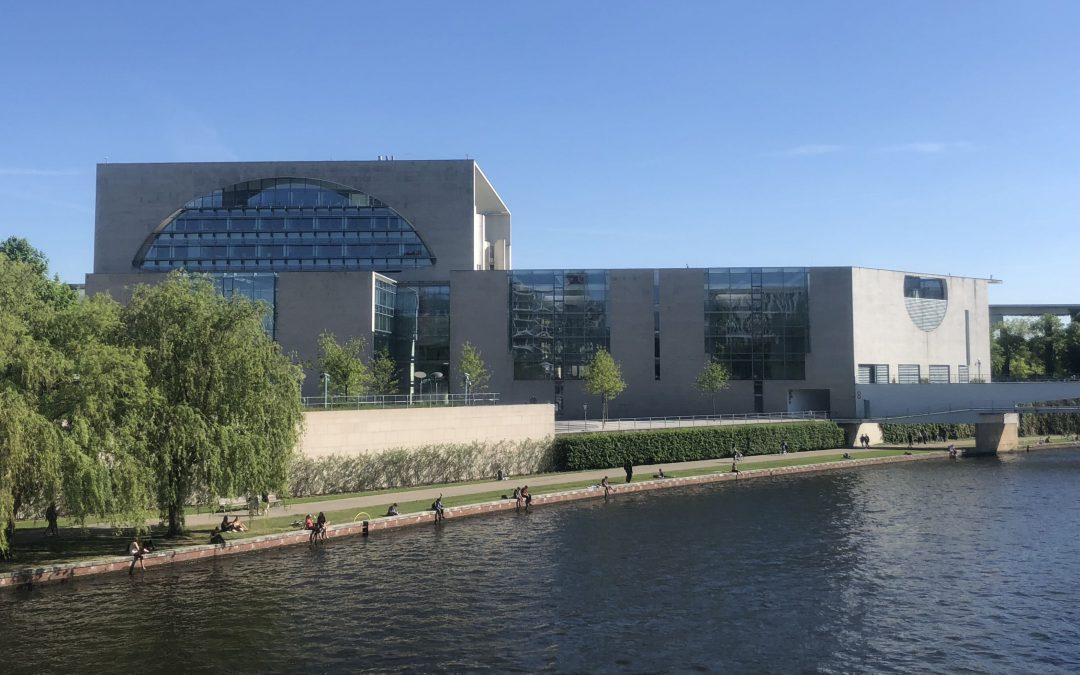 Mit Buschhüter und Pochnicht zu Besuch im Bundeskanzleramt
