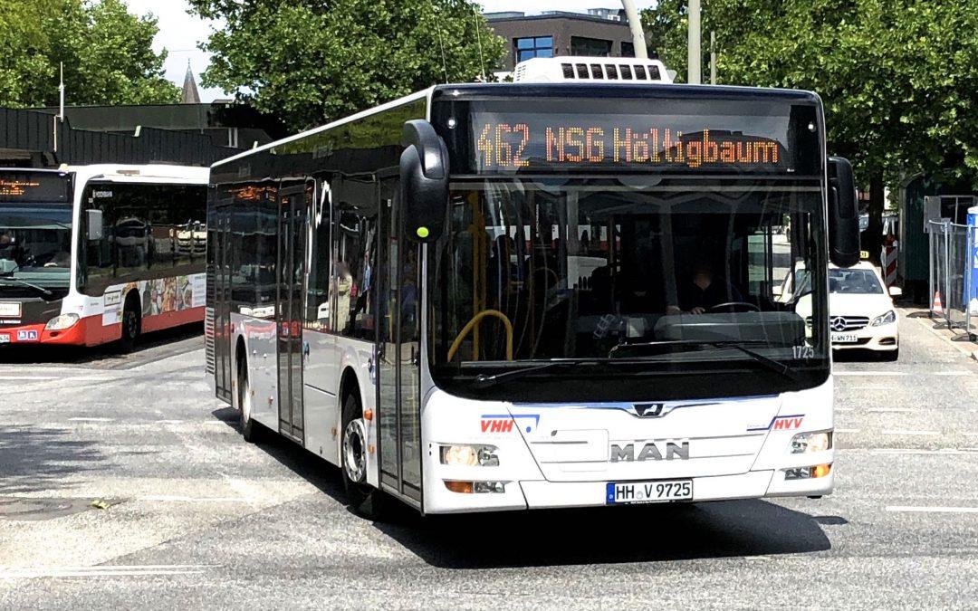 StadtBus-Linie 462: Ab Dezember ganztägig im 15-Minuten-Takt