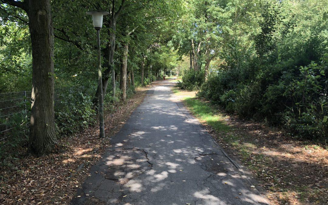 Gehweg im Pulverhofpark wird instandgesetzt, vorübergehende Vollsperrung erforderlich
