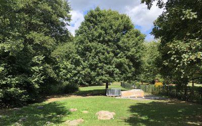 Wiederaufbau des Spielplatzes Nydamer Weg startet