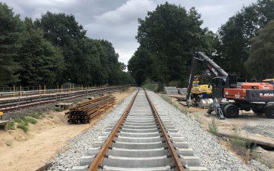 Neue U-Bahn-Station Oldenfelde: Bauarbeiten im Zeitplan
