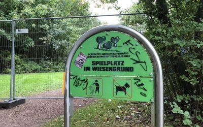 Spielplatz Im Wiesengrund: Bauarbeiten für Neugestaltung haben begonnen