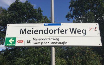 Ab Montag: U-Bahn-Haltestelle Meiendorfer Weg barrierefrei