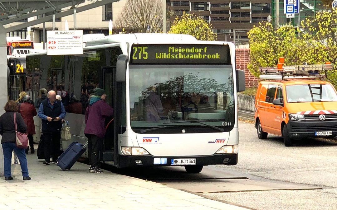 Fahrplanwechsel: Buslinie 275 fährt in Wochenendnächten durch