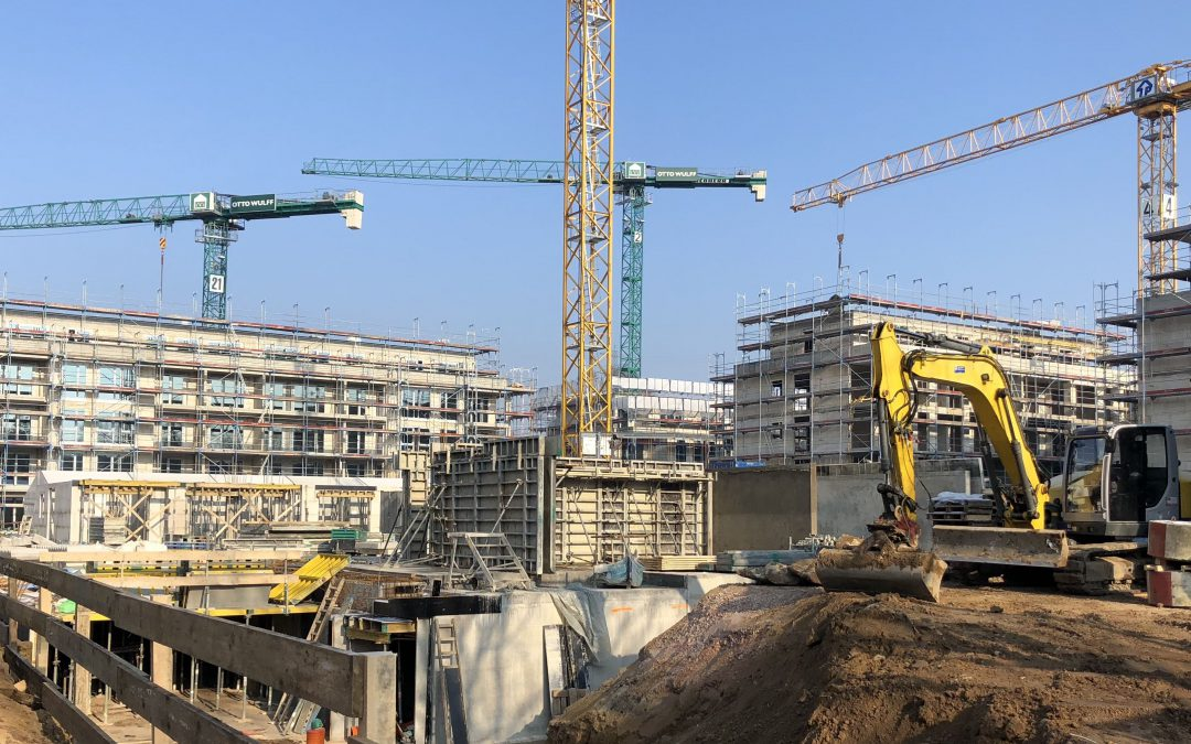 Wohnungsneubau in Rahlstedt 2018 weiter auf hohem Niveau