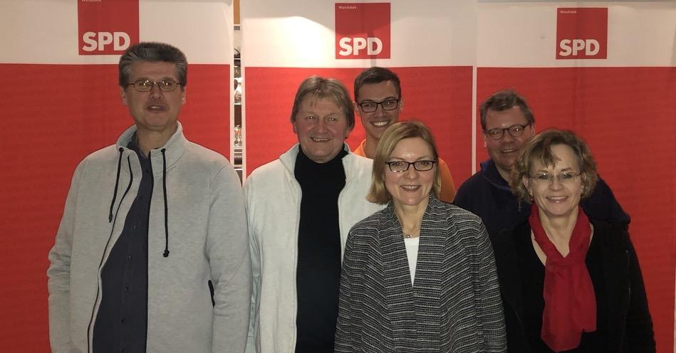 Michael Ludwig-Kircher und Carmen Hansch führen die SPD-Wahlkreisliste für Alt- und Neu-Rahlstedt an