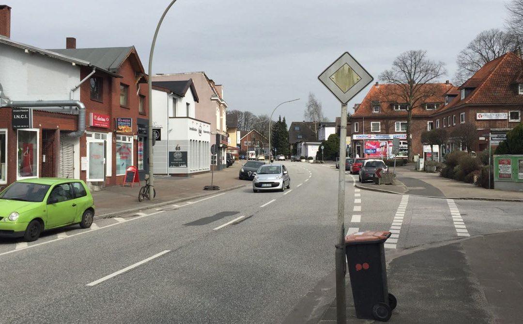 Besser und sicherer: Neu- und Umbau der Rahlstedter Straße wird am 18. Februar fortgesetzt