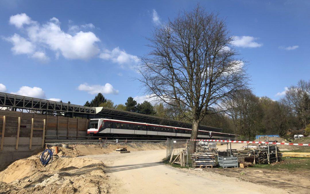 neuer U-Bahnhof Oldenfelde