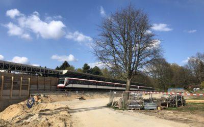 Neuer U-Bahnhof Oldenfelde: Rohbau fertig