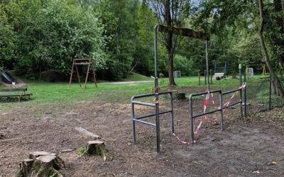 Neustart für den Bauspielplatz am Hallenbad Rahlstedt