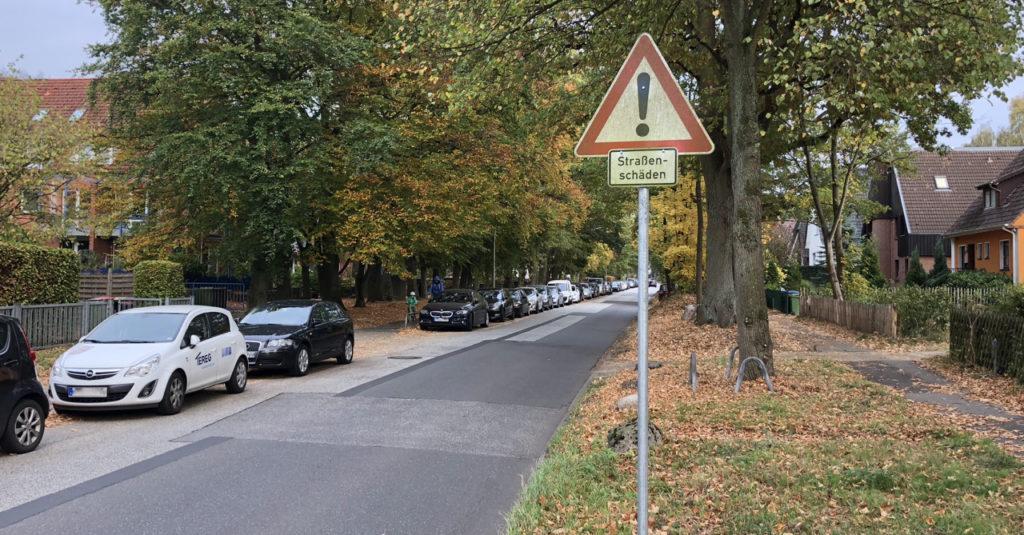 Straße Am Sooren in Hamburg-Rahlstedt