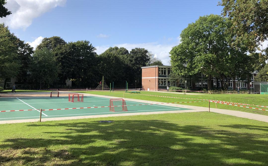 Grüne Mitte der Stadtteilschule und des Gymnasiums Oldenfelde eröffnet