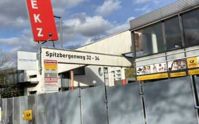 Neubau des Nahversorgungszentrums Spitzbergenweg: Es geht los!