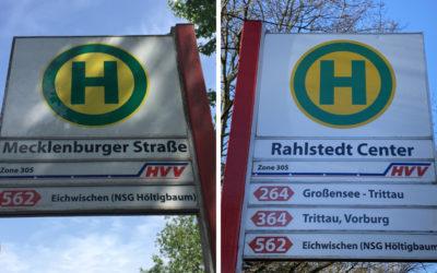 Fahrplanwechsel: Mehr Busse halten jetzt am Rahlstedt Center