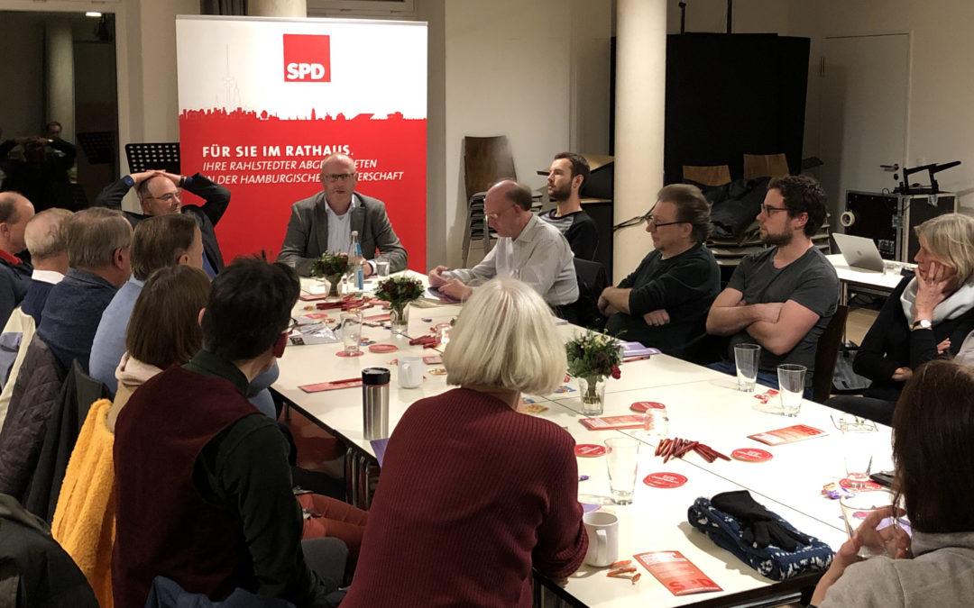 """Über den Rahlstedter Bürgerdialog zum Thema """"Wie gelingt die Mobilitätswende vor Ort?"""""""