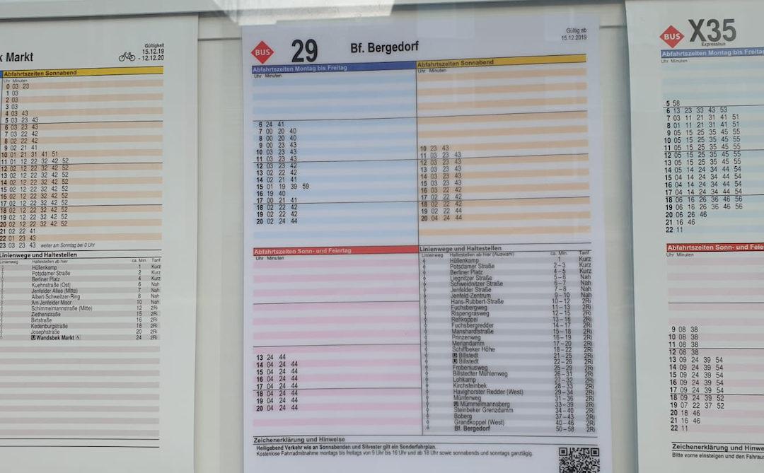 Fahrplanwechsel: Neue MetroBus-Linie von Rahlstedt nach Bergedorf