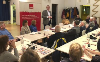 Rahlstedter Bürgerdialog am 16. Januar 2020 im Bürgerhaus in Meiendorf