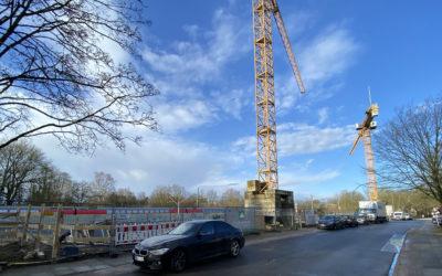Baubeginn für 50 neue Sozialwohnungen im Warnemünder Weg