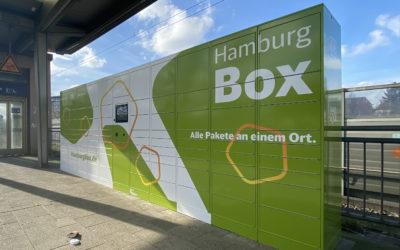 """Pilotprojekt """"Hamburg Box"""" in Rahlstedt gestartet"""
