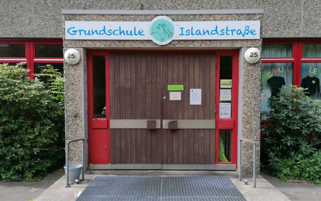 Grundschule Islandstraße bekommt ein Hamburger Klassenhaus