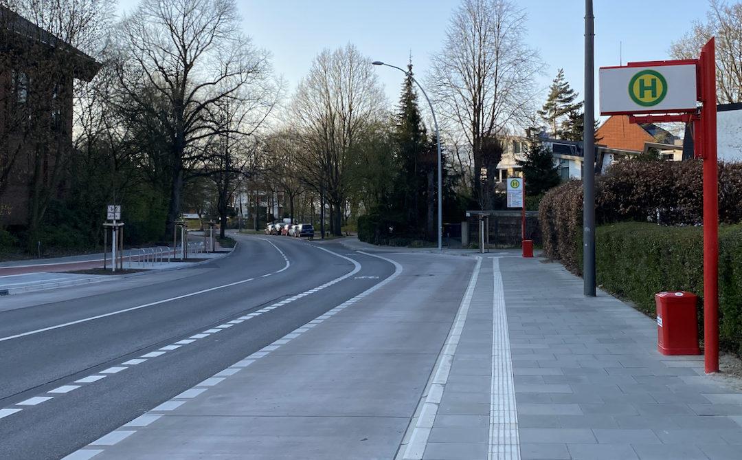 Im Mai kommt der Fahrgastunterstand für die Haltestelle Rahlstedter Weg (Mitte)