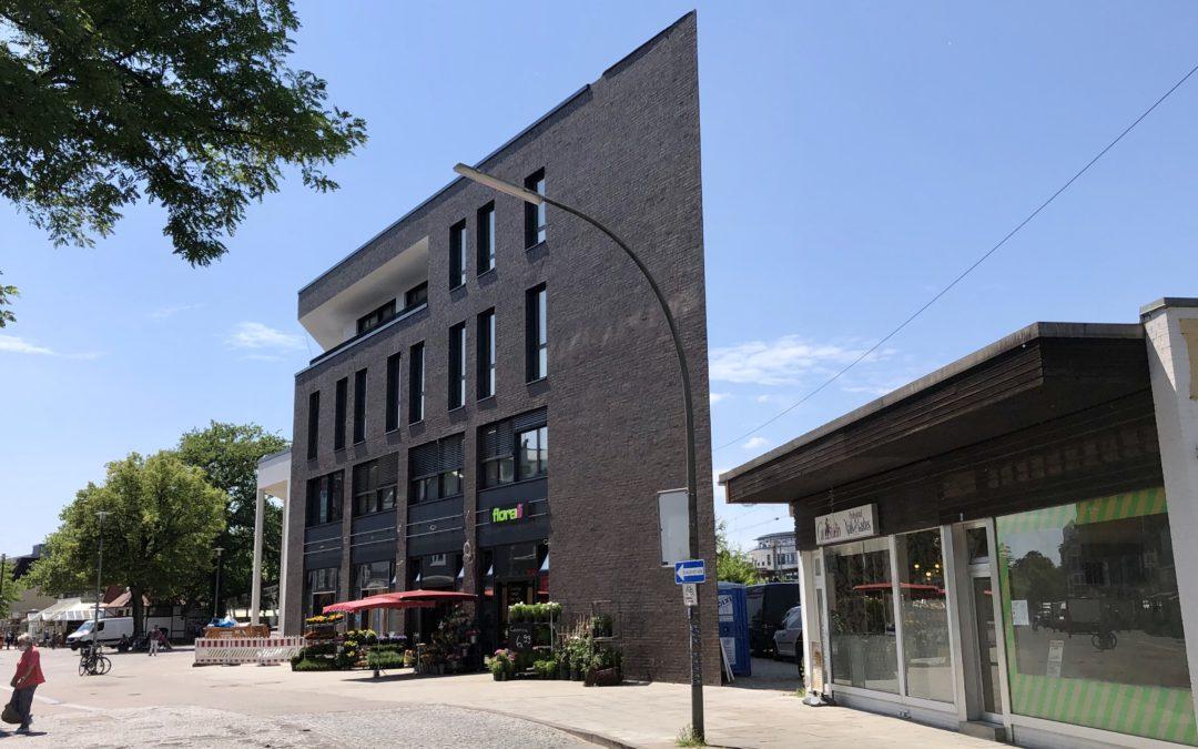 Spitzenimmobilie im Ortskern: Zweiter Bauabschnitt der Bahnhofsarkaden vor Fertigstellung