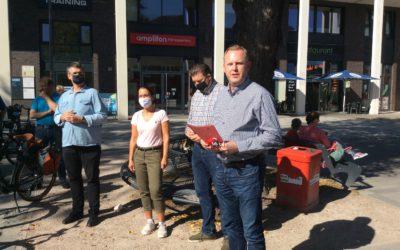 Über unsere politische Radtour durch Alt- und Neu-Rahlstedt