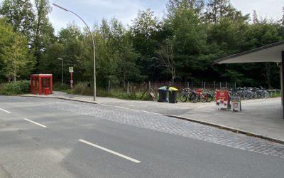 Bushaltestelle am U-Bahnhof Meiendorfer Weg wird barrierefrei
