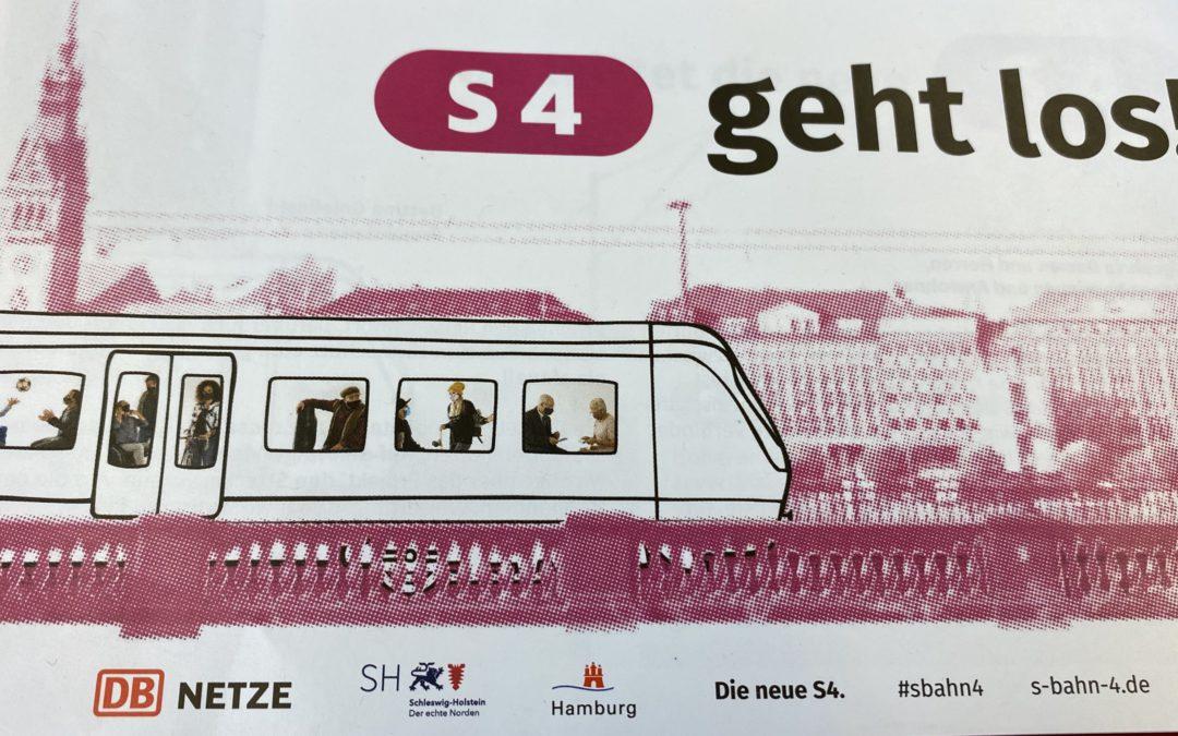 Vier Eilanträge abgewiesen: Am Montag starten die Bauarbeiten für die S4!