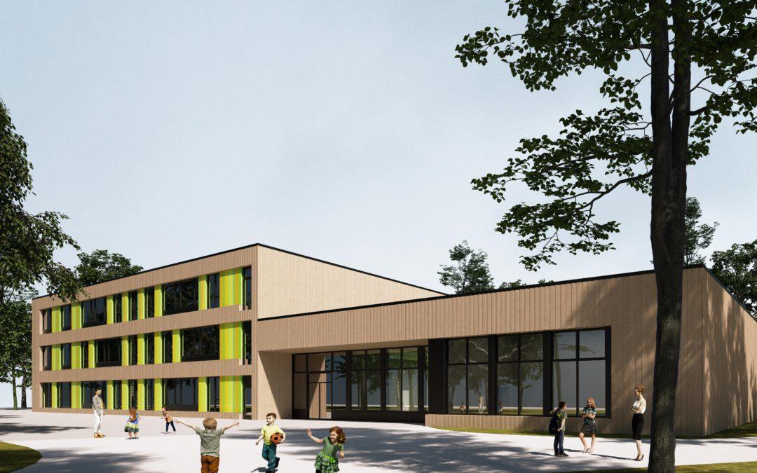 Schule Kamminer Straße: So soll der Neubau aussehen