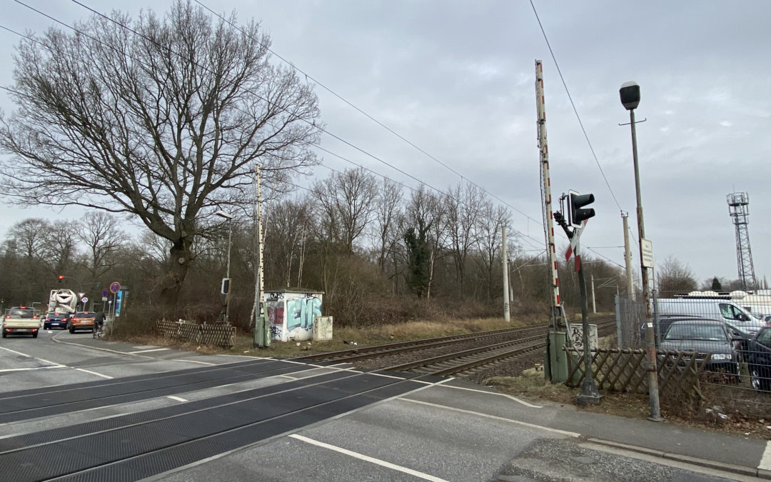 Bahn baut neues Elektronisches Stellwerk in Rahlstedt