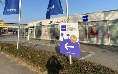 Erstes Corona-Testzentrum in Rahlstedt ab Montag