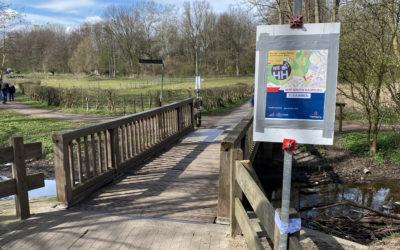 Für Neubau: Vollsperrung der Wandsebrücke an der Altrahlstedter Kirche für zwei Wochen
