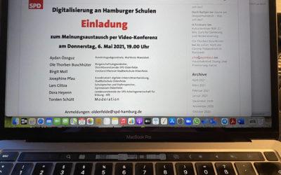 Veranstaltung: Digitalisierung an Hamburger Schulen