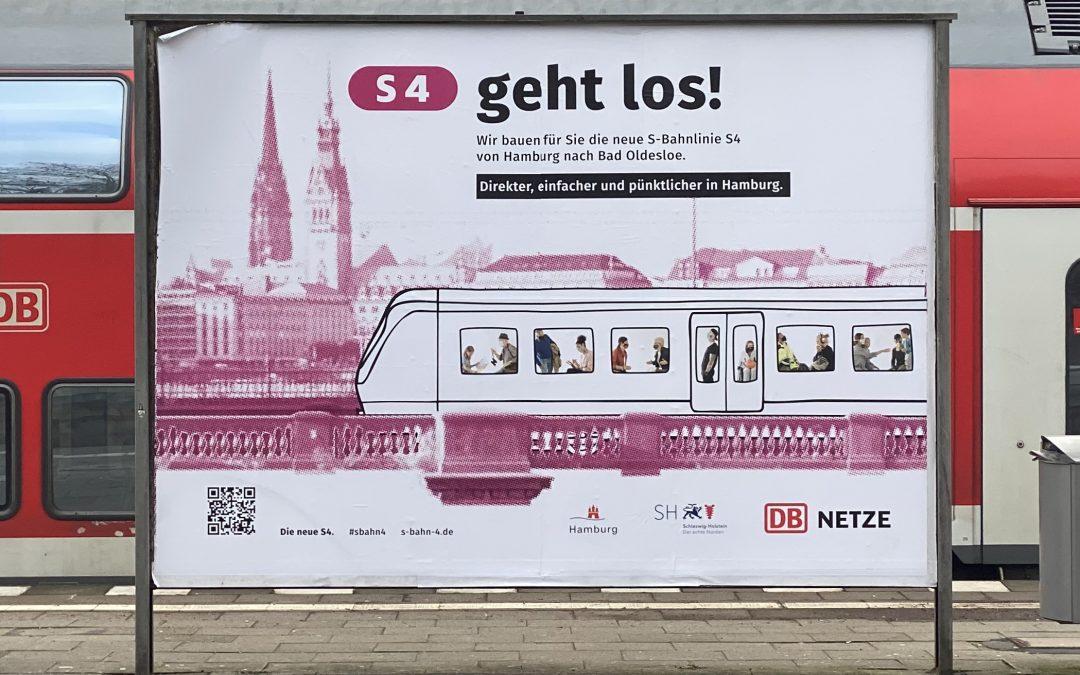 Die S4 kommt – SPD Wandsbek lädt zu Radtour entlang der neuen S-Bahn-Linie ein