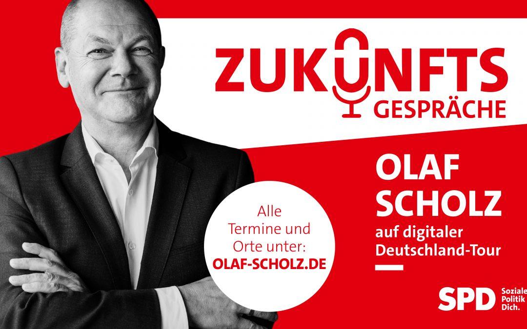 Zukunftsgespräch mit Olaf Scholz und Aydan Özoguz