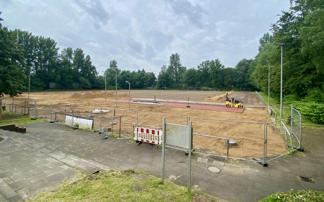 Sportpark Rahlstedt: Neue Drainage für großen Naturrasenplatz