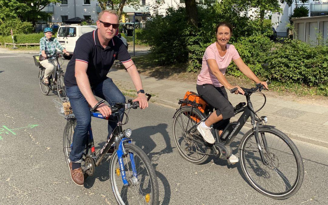 Über die politische Radtour durch Rahlstedt