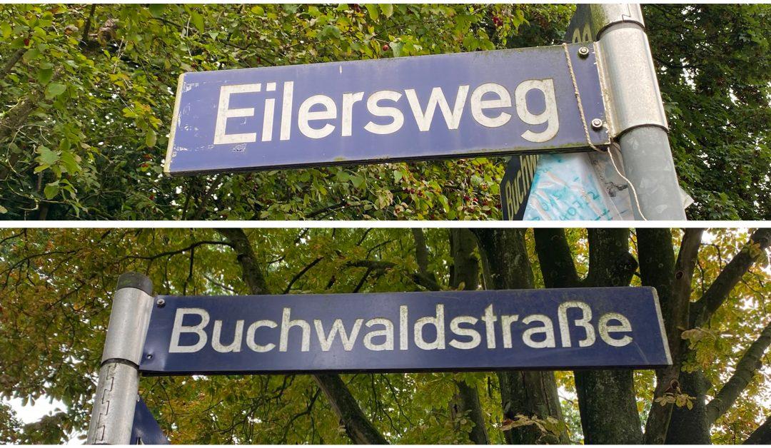 Eilersweg und Buchwaldstraße bekommen neue Fahrbahndecke