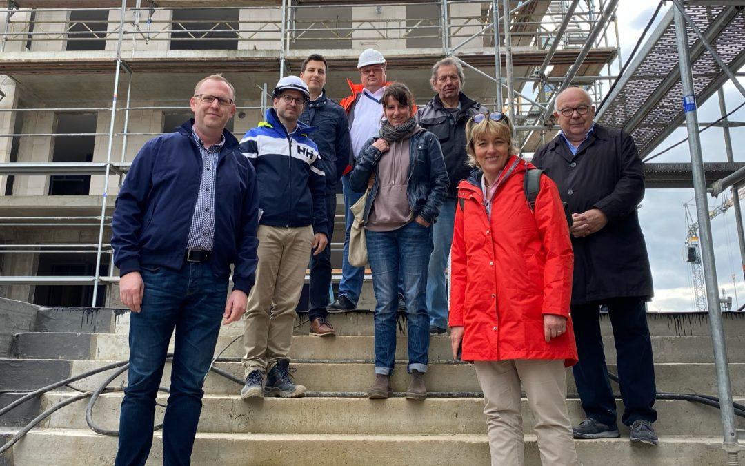 Nahversorgungszentrum Spitzbergenweg: Edeka will vor Ostern eröffnen