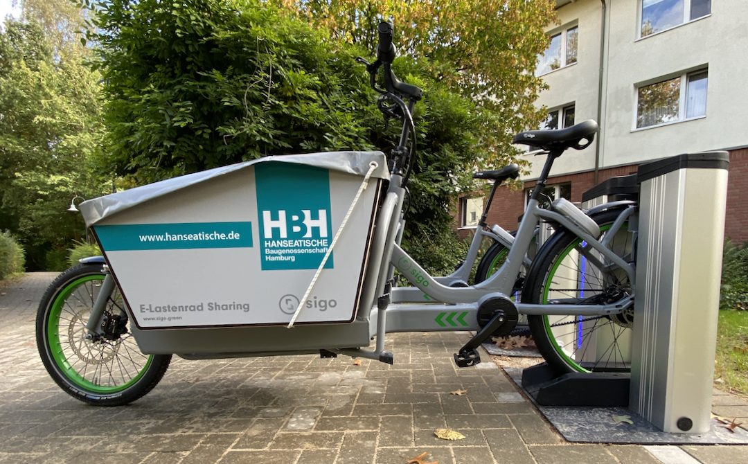 E-Lastenrad-Sharing ab jetzt in Rahlstedt